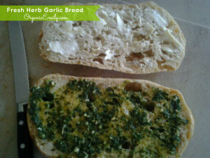 Fresh Garlic and Herb Bread