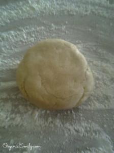 Rustic Plum Tart dough