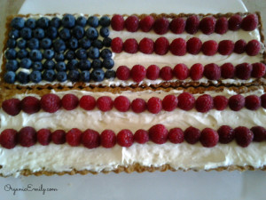 Flag Berry Tart