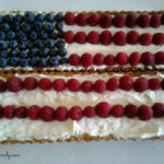 Patriotic Flag Berry Tart