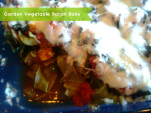 Garden Vegetable Italian Bake