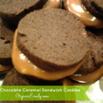 Mayan Chocolate Caramel Sandwich Cookies
