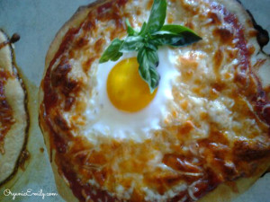 Sunny-side Up Pizza