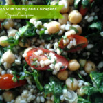 Tabbouleh with Barley and Chickpeas