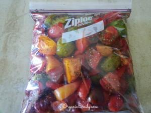 Marinating Tomatoes