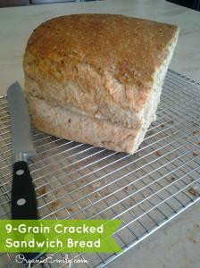 9-Grain Cracked  Sandwich Bread