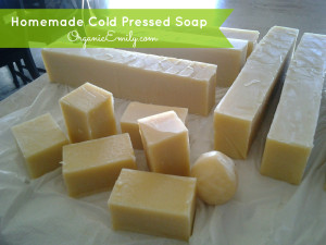 Homemade Cold Pressed Soap
