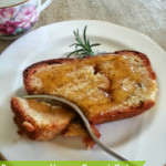 Rosemary Honey Pound Cake