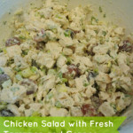 Chicken Salad with Fresh Tarragon and Grapes