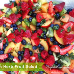 Fresh Herb Fruit Salad