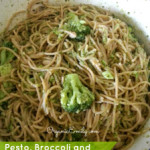 Pesto, Broccoli and White Bean Pasta