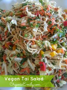 Vegan Tai Salad