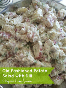 Old Fashioned Potato Salad with Dill