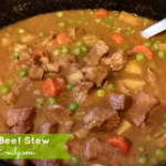 Slow Cooker Hearty Beef Stew