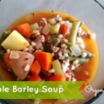 Vegetable Turkey Barley or Quinoa Soup