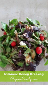 Balsamic Honey Dressing