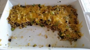 Quinoa Black Bean Bake