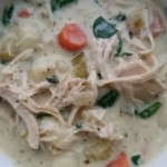 Slow Cooker Chicken and Vegetable Gnocchi Soup