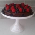 Gluten/Dairy Free Chocolate Torte