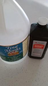 Vinegar and Hydrogen Peroxide