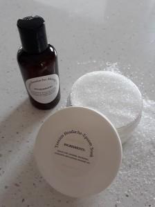 Epsom soak and massage oil for headaches