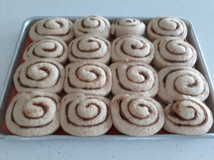 Second Rise Natural Yeast Cinnamon Rolls