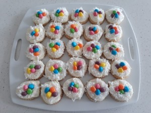 Shortbread Easter Nest Cookies