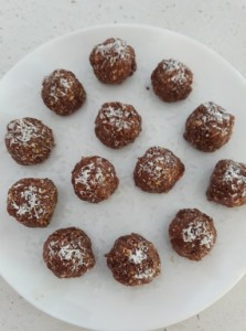 No Bake Coconut Cacao Balls