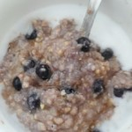 Blueberry Cardamom Creamy Buckwheat Cereal