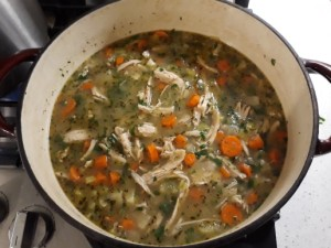 Immune Boost Chicken Vegetable Soup